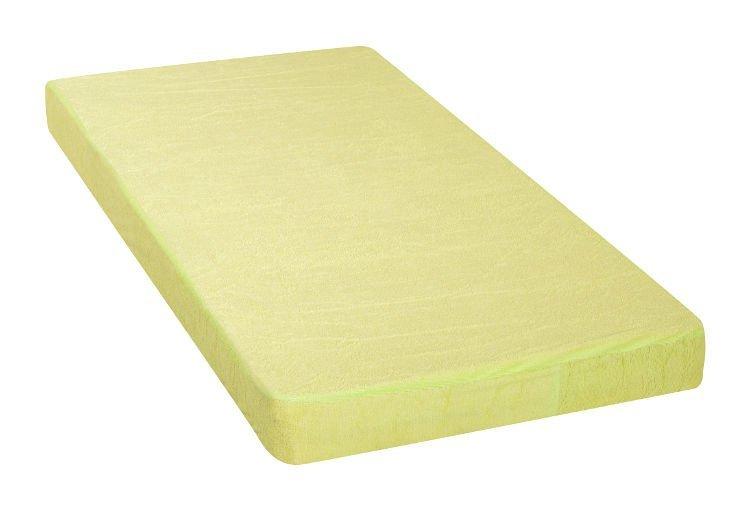 Nepropustn� prost�radlo 80x160cm zelen� frot� bavlna - zv��i� obr�zok
