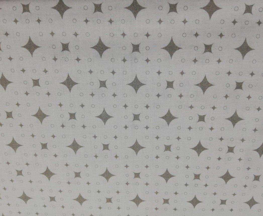 Bavlnen� plachta 120x60 cm �ed� s bielymi k�ro kockami - zv��i� obr�zok