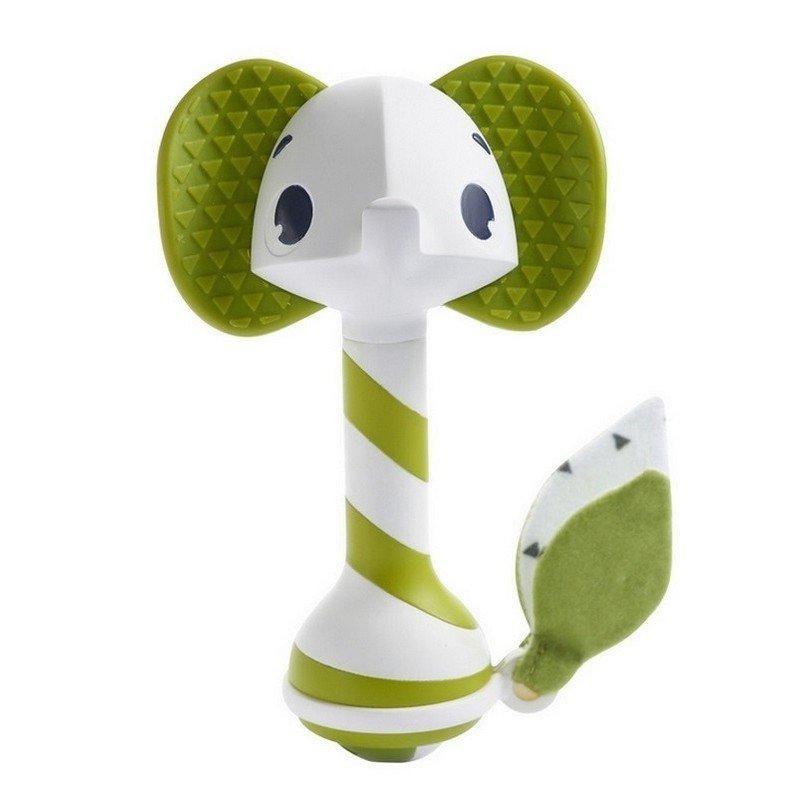 Hrk�lka a hryz�tko smart slon Samuel 3+ zelen� - zv��i� obr�zok