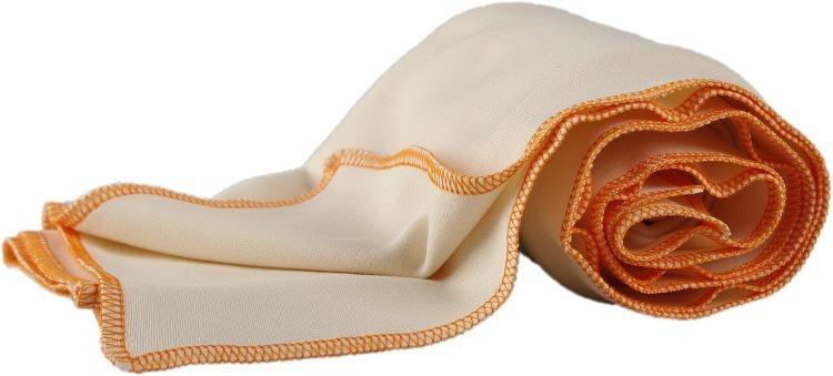 Letn� deka z biobavlny 70x100 cm oran�ov� lem - zv��i� obr�zok