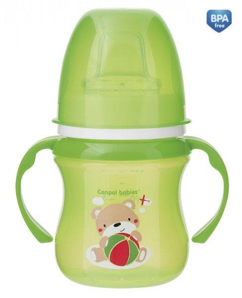 Tr�ninkov� hrn��ek EasyStart Sweet Fun 120 ml zelen� - zv��i� obr�zok