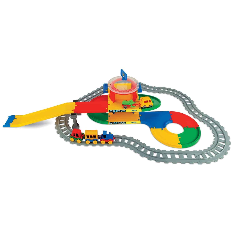 Gar� play trucks �elezni�nej stanice 2 poschodia - zv��i� obr�zok