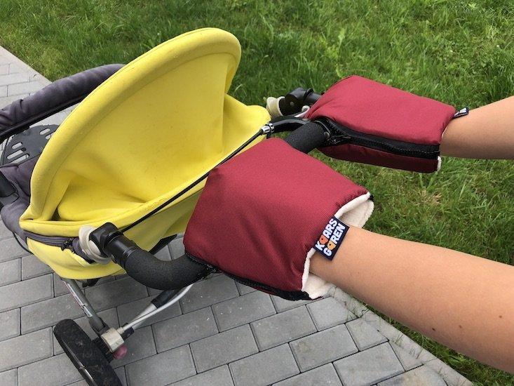 V�nov� rukavice na ko��rek biobavlna - zv��i� obr�zok