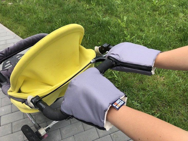 �ed� rukavice na ko��rek biobavlna - zv��i� obr�zok