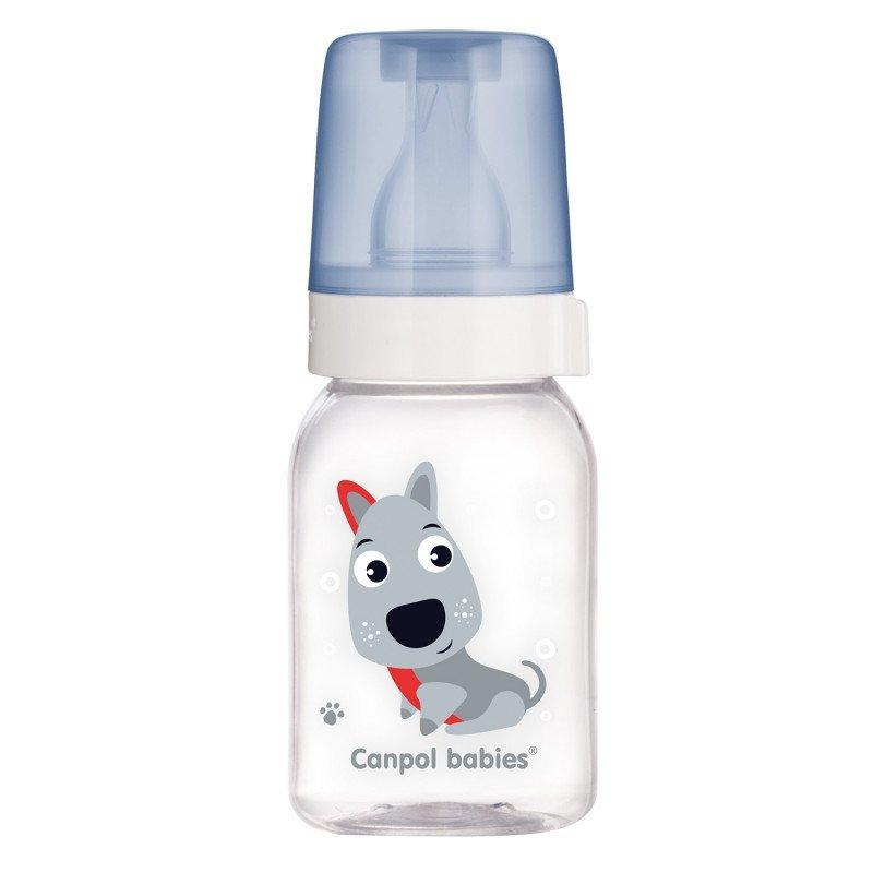Lahev s potiskem CUTE ANIMALS 120 ml BPA 0% - zv��i� obr�zok
