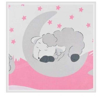 Zavinova�ka bez v�stu�e bavlna Spiace ove�ka ru�ov� - zv��i� obr�zok