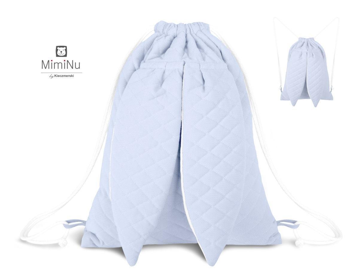 Detsk� plecniak s u�kami modr� - zv��i� obr�zok