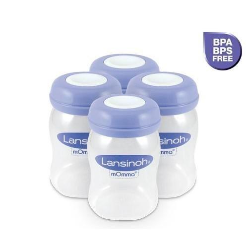 Z�sobn�ky na uskladnenie matersk�ho mlieka 4 ks - zv��i� obr�zok