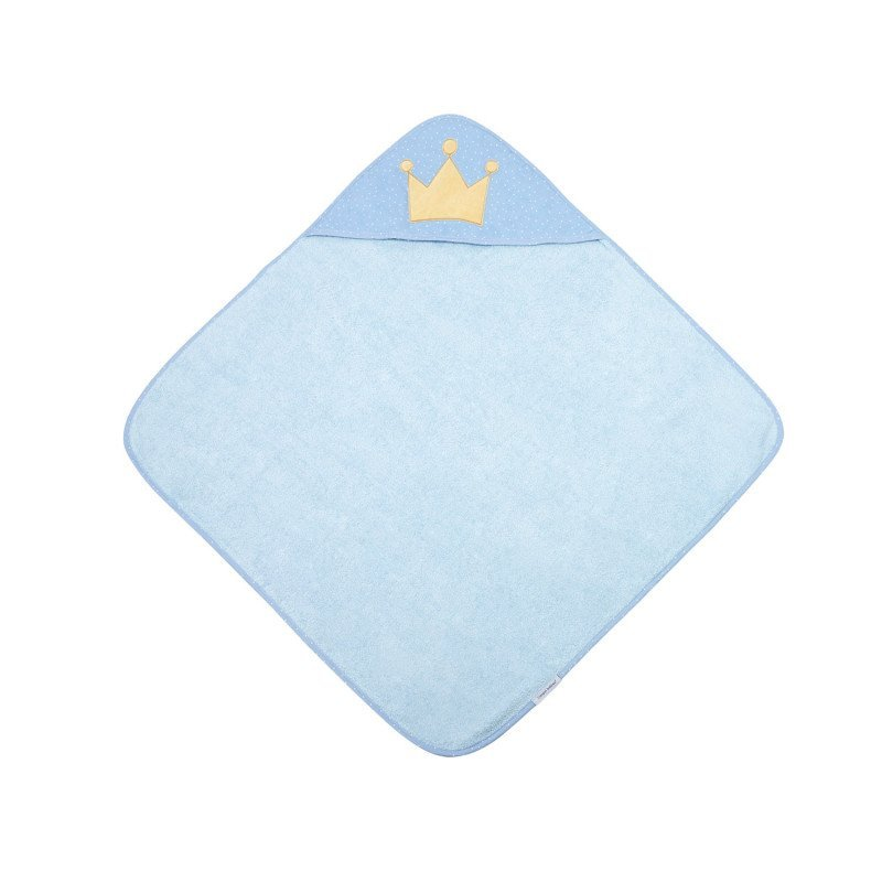 M�kk� osu�ka s kapuc� 85x85cm KING modr� - zv��i� obr�zok