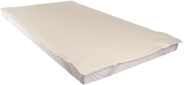 Chr�ni� matrace 80 x 200 cm nepromokav� bio flanel - zv��i� obr�zok