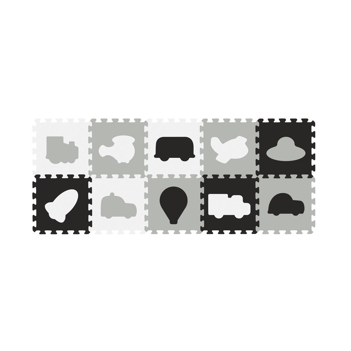 P�nov� puzzle 10 ks dopravn� prost�edky 30x30ccm - zv��i� obr�zok