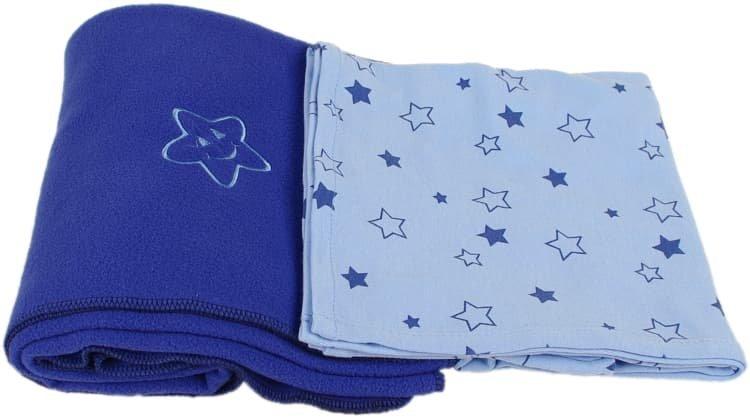 Sada dvou dek modr� hv�zdi�ky - zv��i� obr�zok