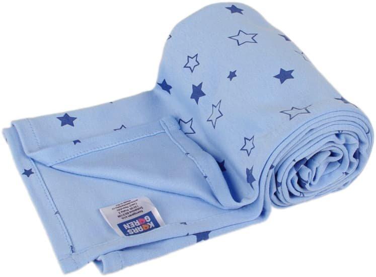 Letn� deka 70x100cm modr� hv�zdi�ky - zv��i� obr�zok