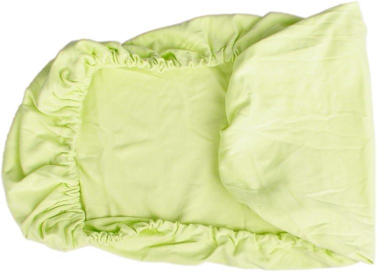 Zelen� prost�radlo biobavlna 70 x 140 cm - zv��i� obr�zok