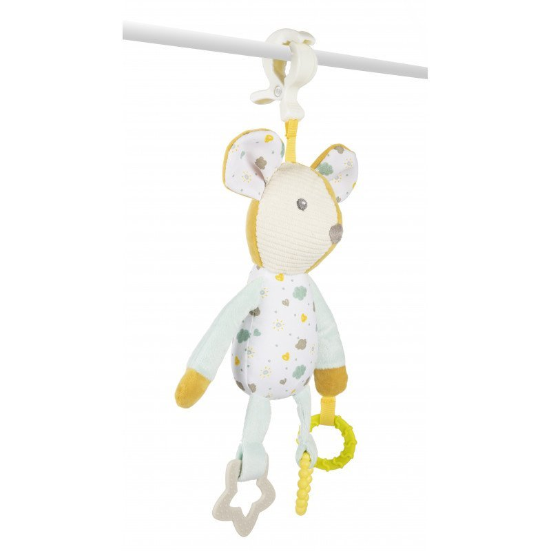 Ply�ov� hra�ka s kous�tky My�ka - zv��i� obr�zok