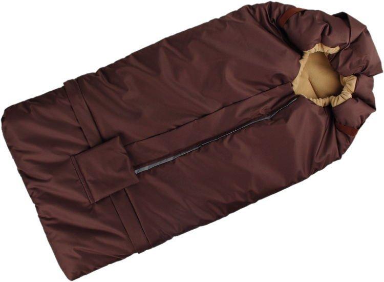 Fusak hn�do-b�ov� s fleece pod��vkou - zv��i� obr�zok