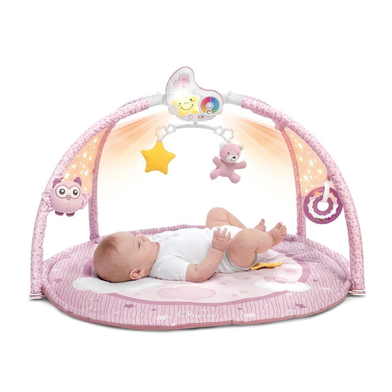Hrac� deka pro miminka 3v1 r��ov� - zv��i� obr�zok