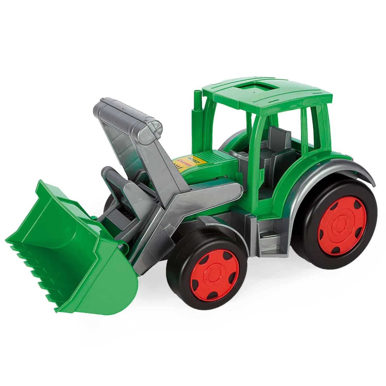 Traktor s naklada�om Gigant - zv��i� obr�zok