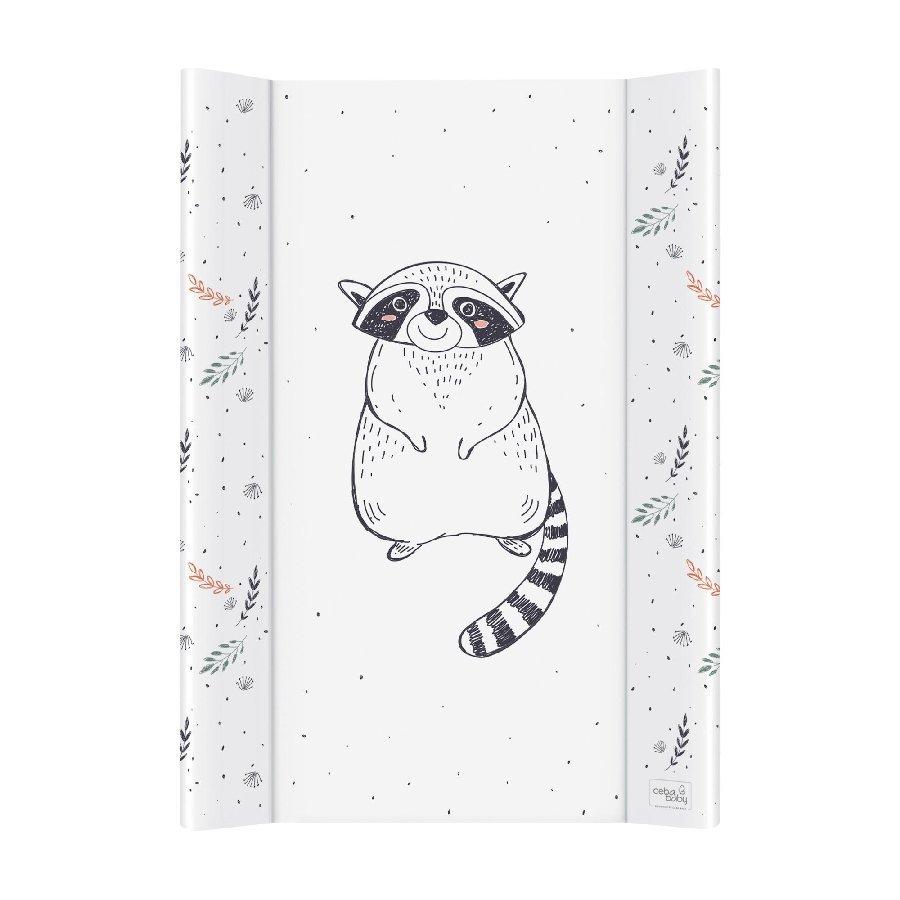 P�ebalovac� podlo�ka se zvednut�mi okraji m�kk� 50x70 Raccoon - zv��i� obr�zok