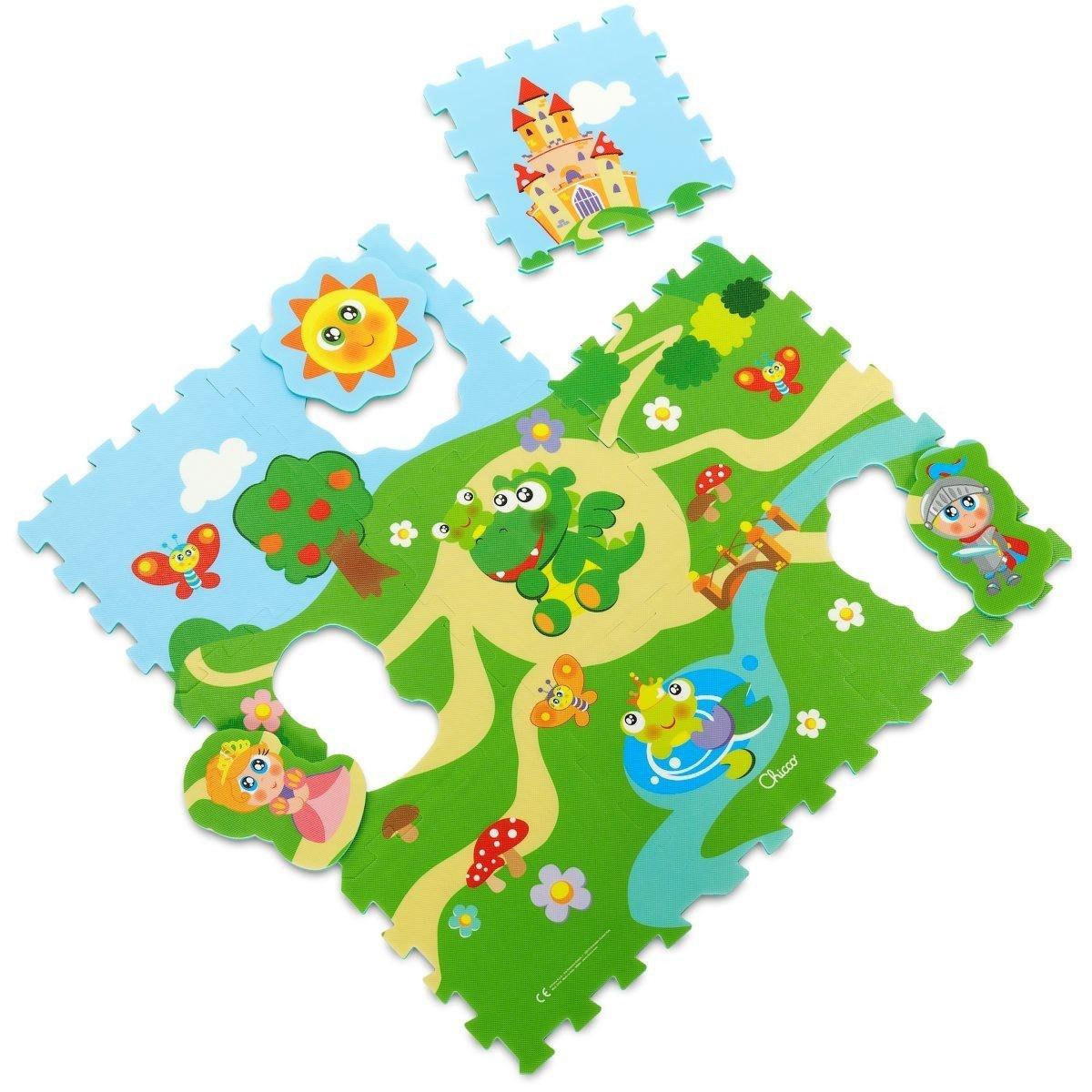 Puzzle p�nov� hrad 30x30 cm 9 ks - zv��i� obr�zok