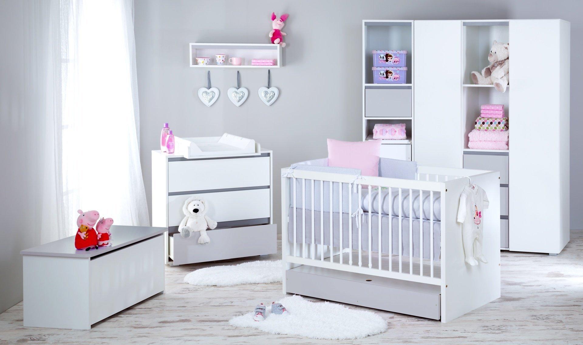 Detsk� izba Dalia s postie�kou 140x70 cm siv� - zv��i� obr�zok