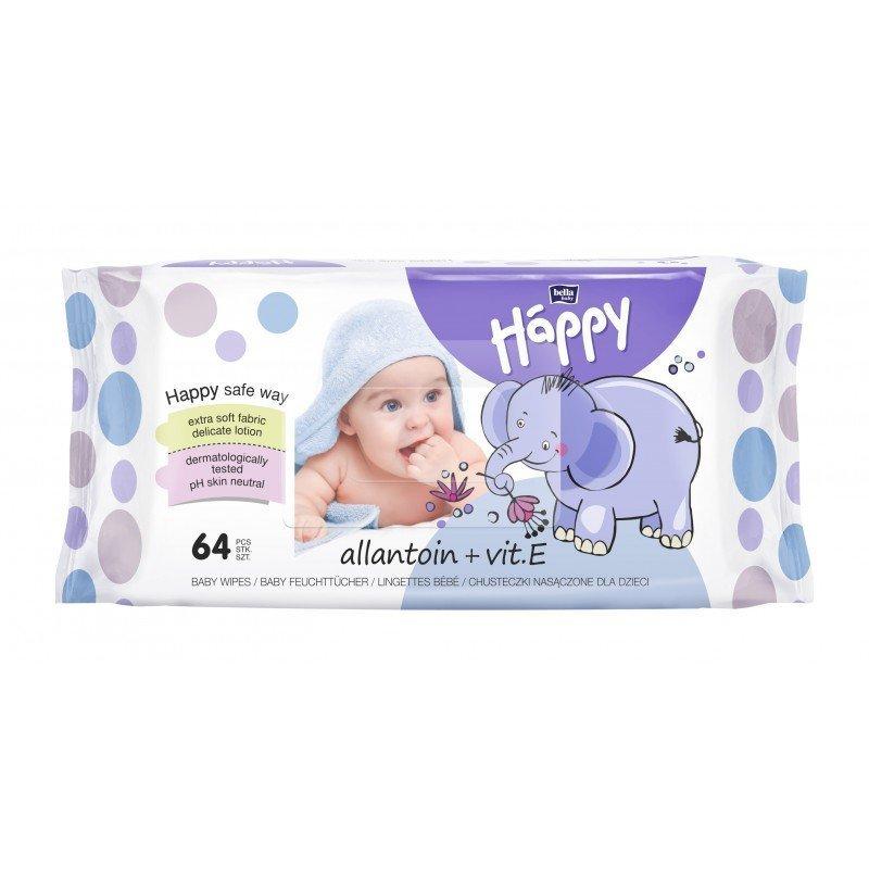 Vlh�en� obr�sky Baby Happy s alanto�n 64 ks - zv��i� obr�zok