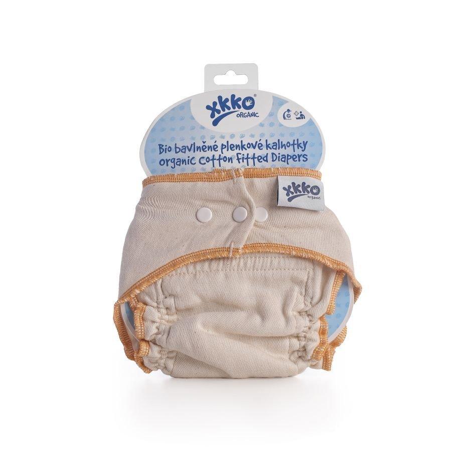 Bio bavlnen� plienkov� nohavi�ky Organic Natural vel.S - zv��i� obr�zok