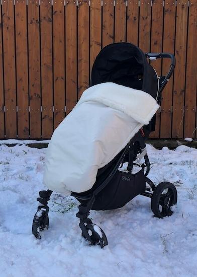 Zimn� deka merino nepadac� 70x100 cm b�ov� - zv��i� obr�zok
