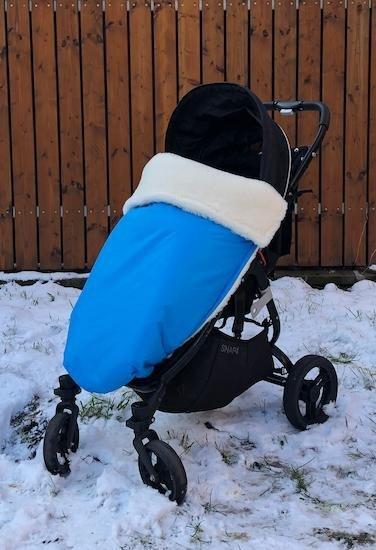 Zimn� deka merino nepadacia 70x100 cm aqua - zv��i� obr�zok