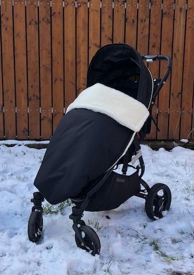 Zimn� deka merino nepadac� 70x100 cm �ern� - zv��i� obr�zok