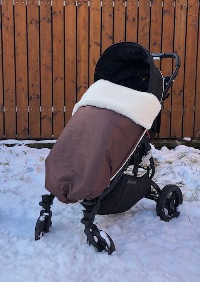 Zimn� deka merino nepadacia 70x100 cm hned� - zv��i� obr�zok