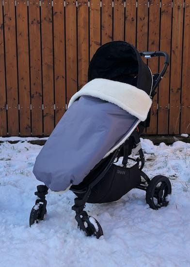 Zimn� deka merino nepadacia 70x100 cm siv� - zv��i� obr�zok
