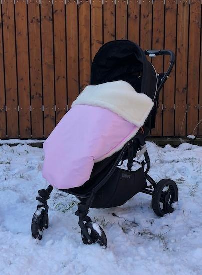 Zimn� deka merino nepadac� 70x100 cm baby pink - zv��i� obr�zok