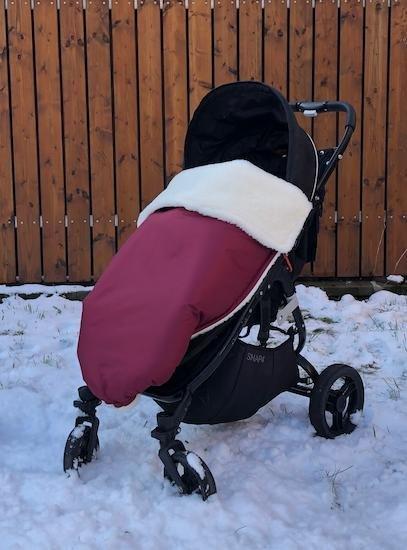 Zimn� deka merino nepadac� 70x100 cm v�nov� - zv��i� obr�zok