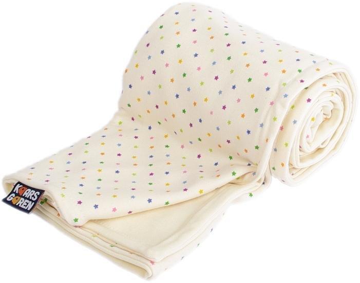 Detsk� merino deka bio hviezdi�ky 70x100 cm - zv��i� obr�zok