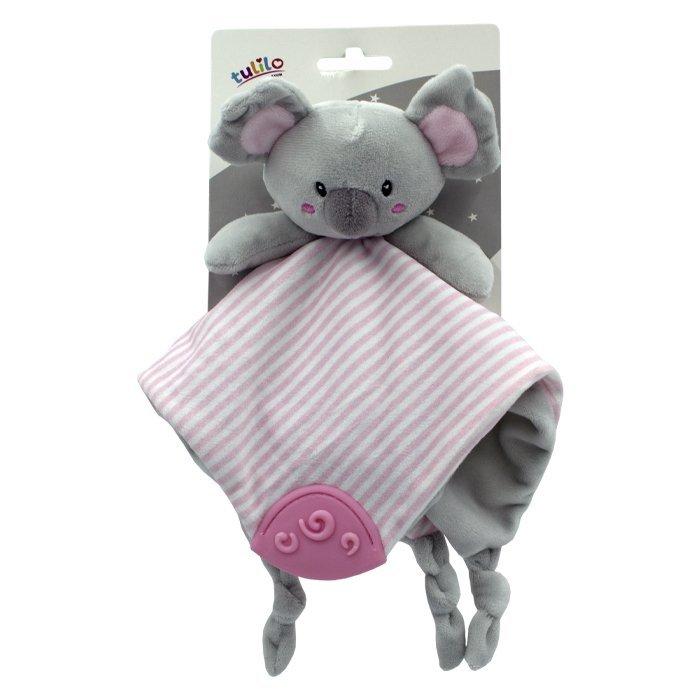 Ply�ov� hra�ka usp�va�ik Koala 25cm ru�ov� - zv��i� obr�zok