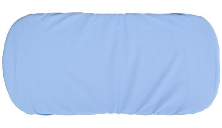 Plachta do ko��ka bavlna 35x75 cm modr� - zv��i� obr�zok