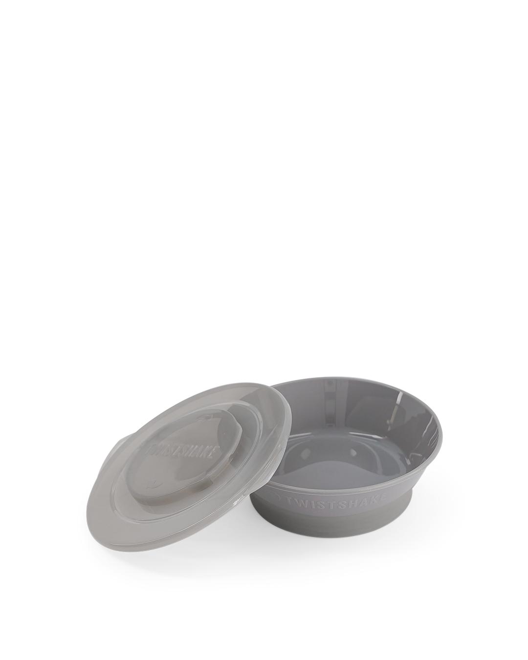 TWISTSHAKE 78154 Miska Bowl 6+ m Pastelovo siv� - zv��i� obr�zok