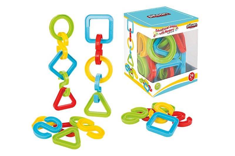 Eduka�n� hra�ka tvary 24 ks - zv��i� obr�zok