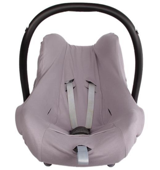 Siv� po�ah 1+1 z bio-bavlny na detsk� autoseda�ku - zv��i� obr�zok