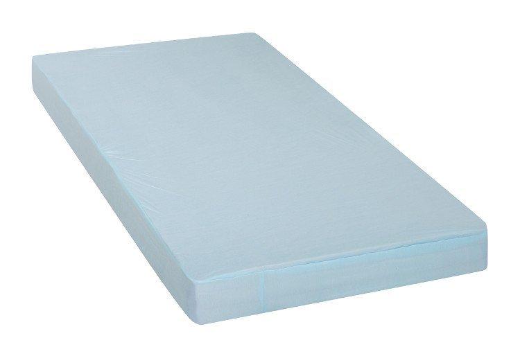 Prost�radlo a chr�ni� matrace 2v1 41x90 cm modr� - zv��i� obr�zok