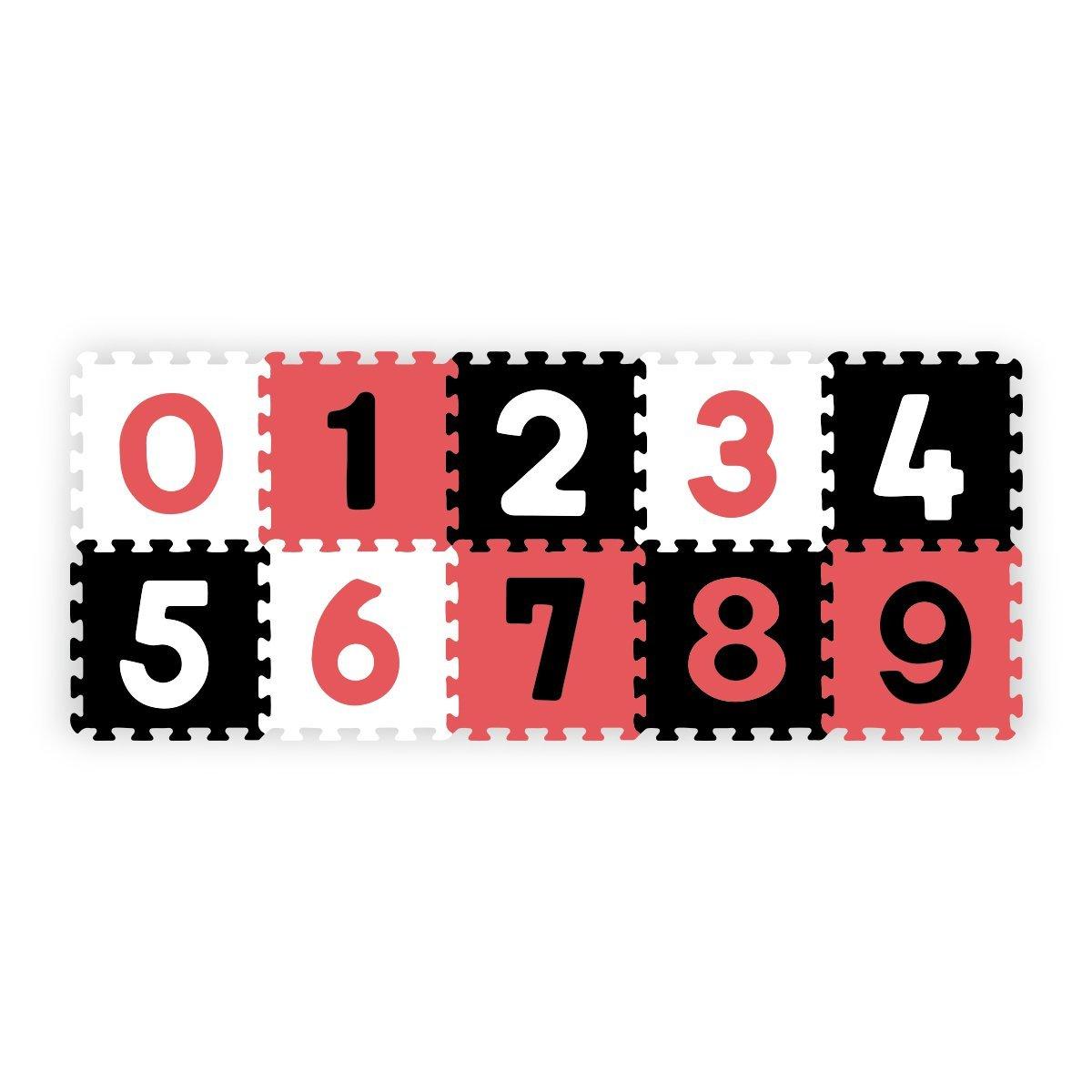 Pмnovй puzzle pмnovй 30x30 cm 10 ks инsla иerveno иerno bнlб - zvдиљiќ obrбzok