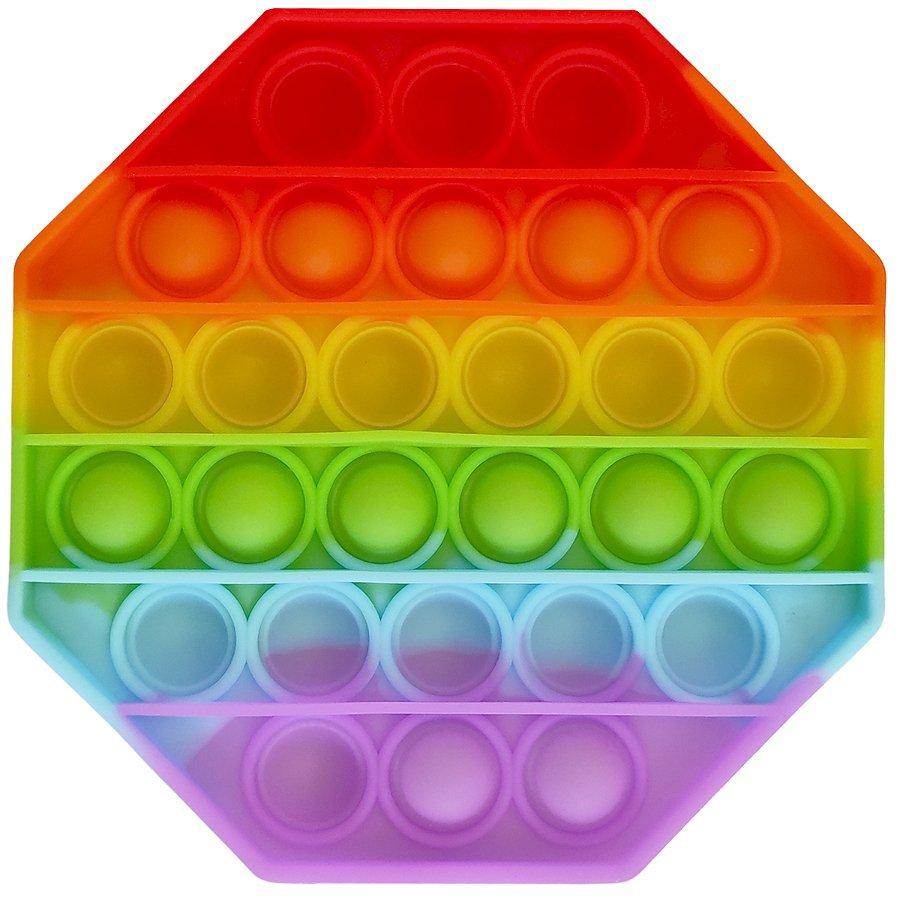 Antistresov� hra�ka POP IT Osmihran - zv��i� obr�zok