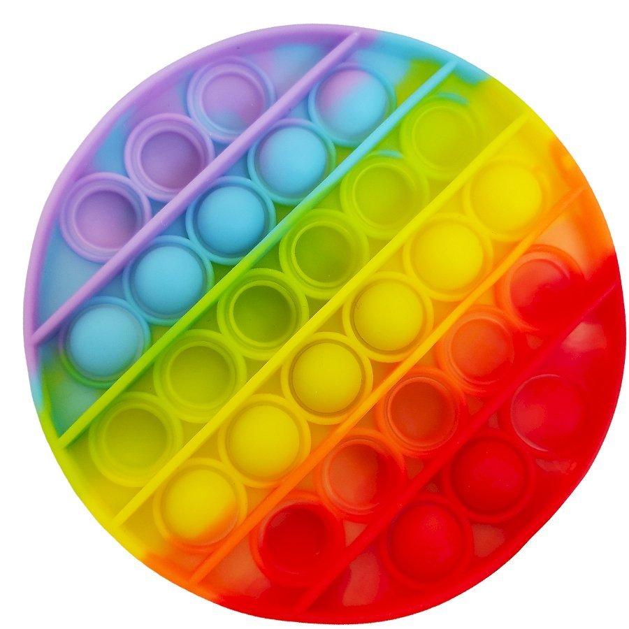 Antistresov� hra�ka POP IT Koleso - zv��i� obr�zok