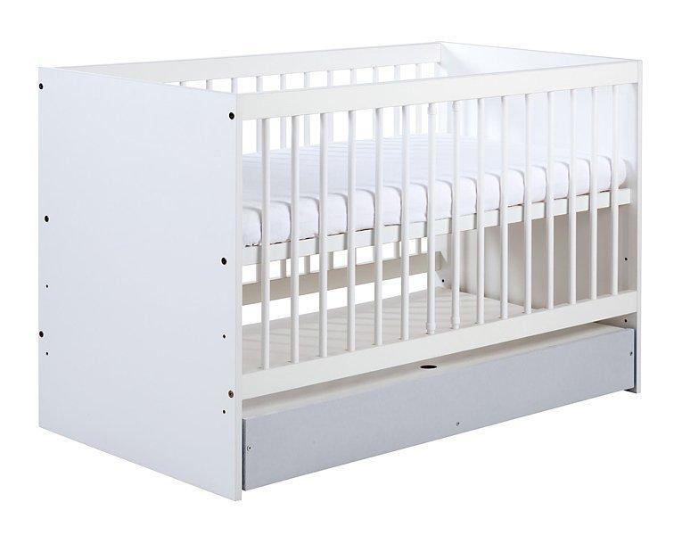 Detsk� izba Dalia s postie�kou 120x60 cm siv� - zv��i� obr�zok