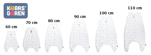 Bio spac� vak s no�i�kami 70 cm �irafky aqua - zv��i� obr�zok