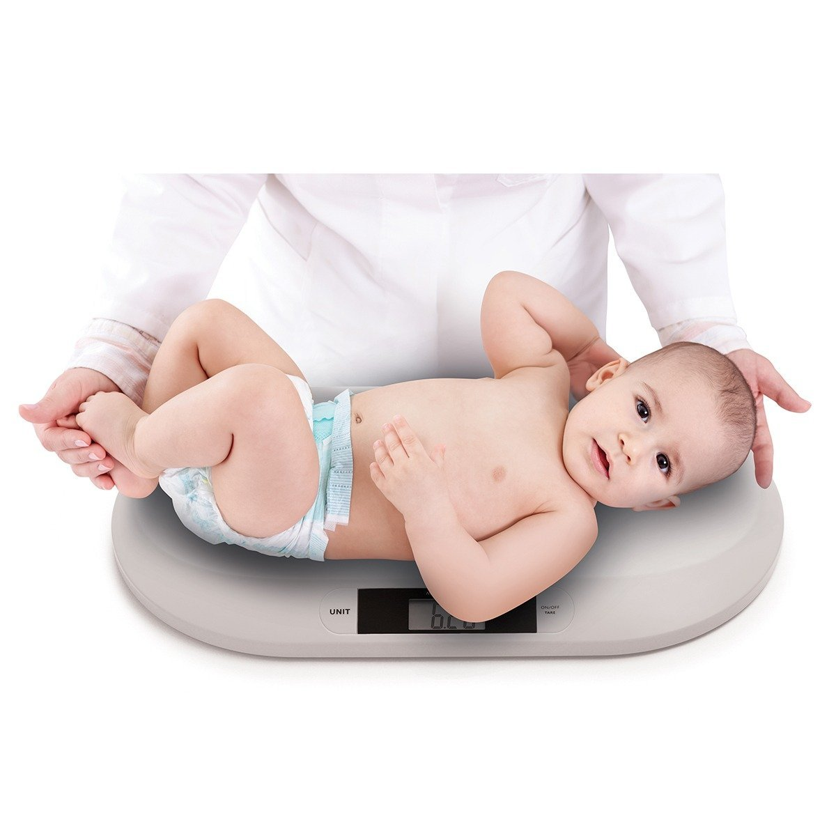 Digit�lna kojeneck� v�ha do 20 kg siv� - zv��i� obr�zok