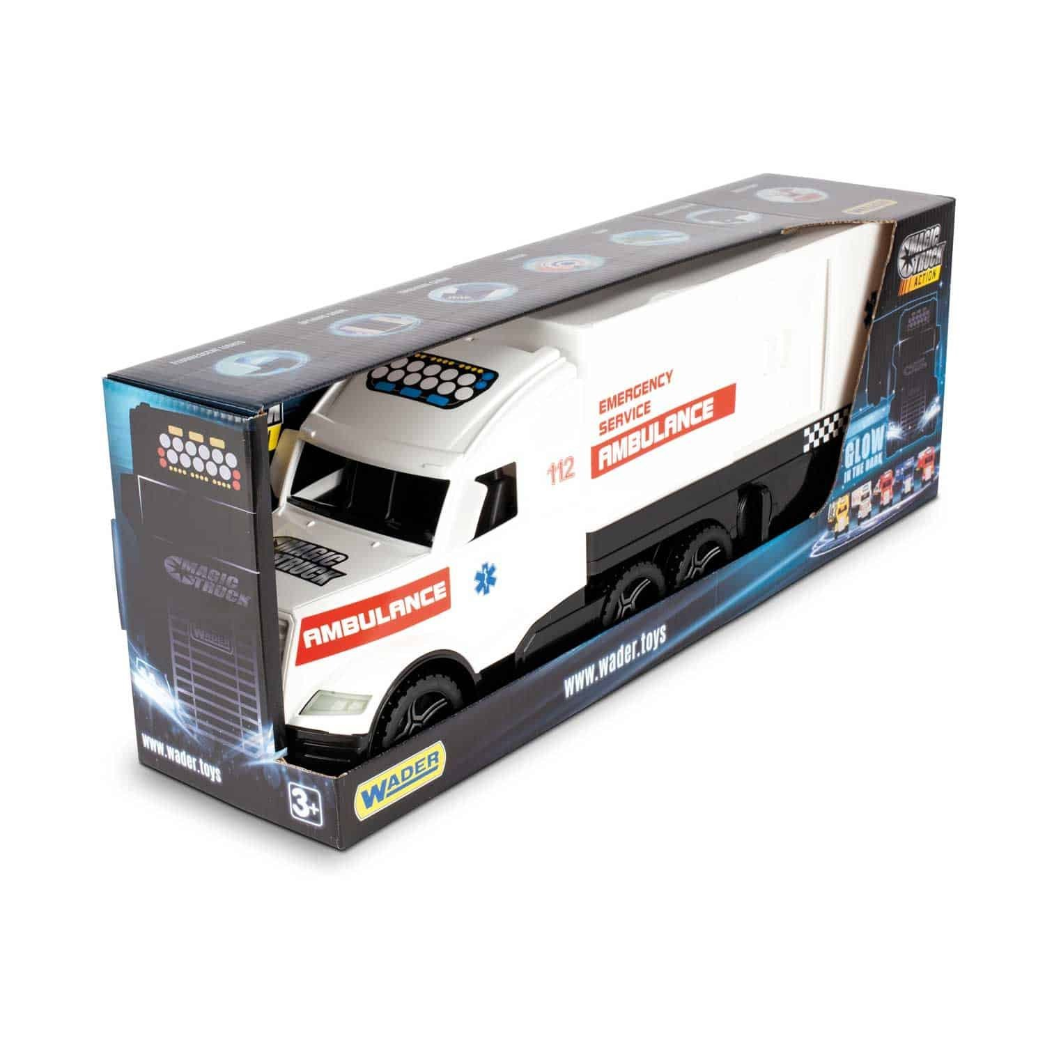�aha� Magic Truck ACTION ambulancie - zv��i� obr�zok