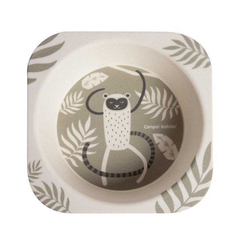 Jed�lensk� sada z bambusu Lemur 5 �asti - zv��i� obr�zok