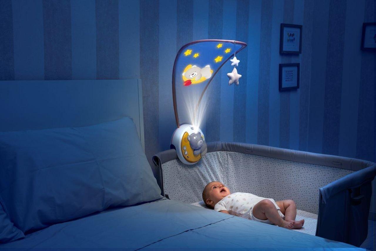 Projektor s baldach�mem Next 2 Moon �ed� - zv��i� obr�zok